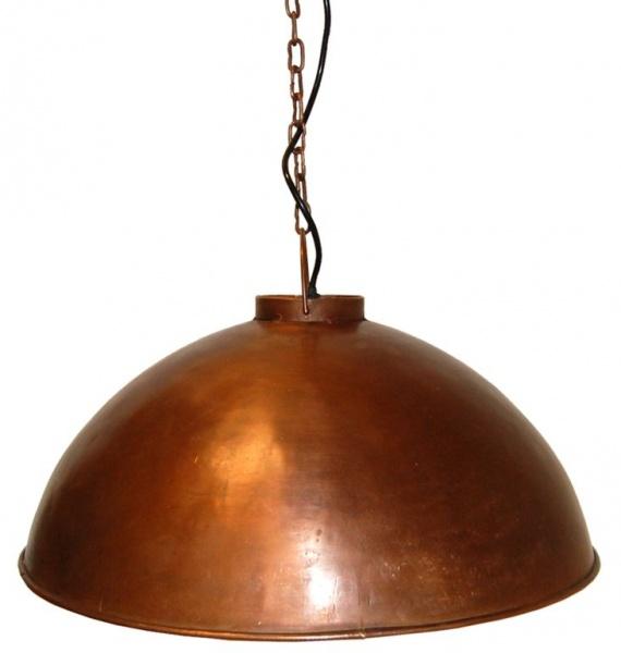 Svært Taklampe fabrikkstil - kobber - Alt for Hjemmet OF-85